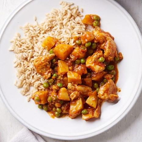 Chicken & Celery Root Tikka Masala
