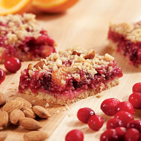 Cranberry-Orange Fruit Bars