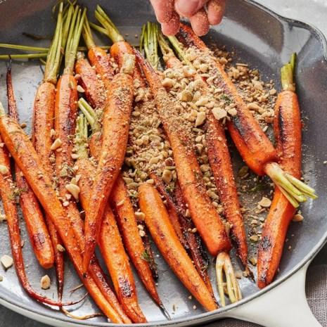Dukkah-Spiced Carrots