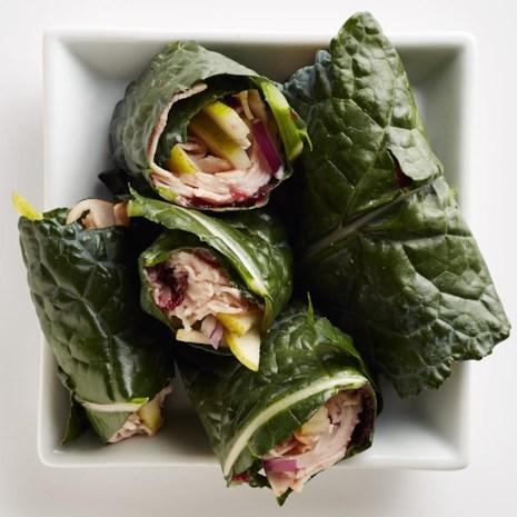Kale Turkey Wraps