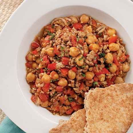 Lamb & Chickpea Chili