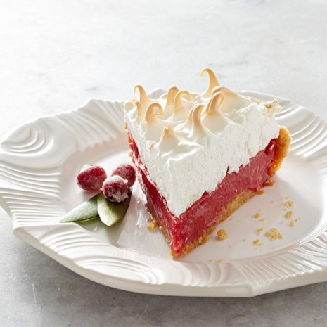 Cranberry Meringue Pie