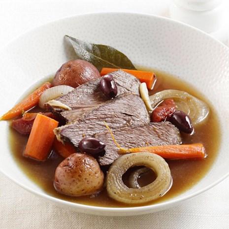 Slow-Cooker Orange-Scented Pot Roast with Olives