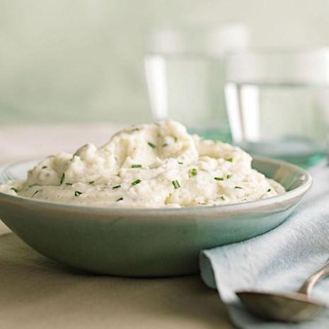 Dill-Havarti Mashed Cauliflower