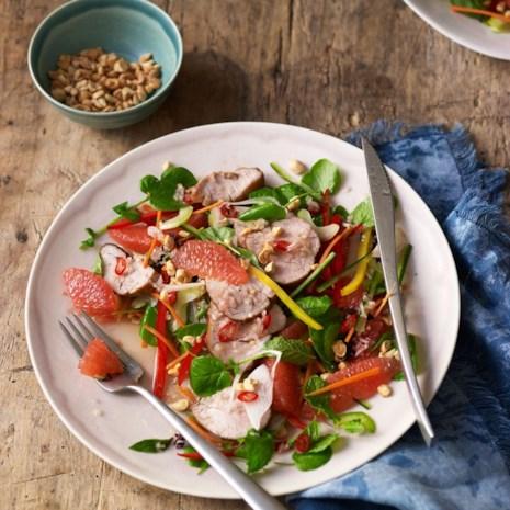 Vietnamese Grapefruit & Pork Salad (Pork Goi Buoi)