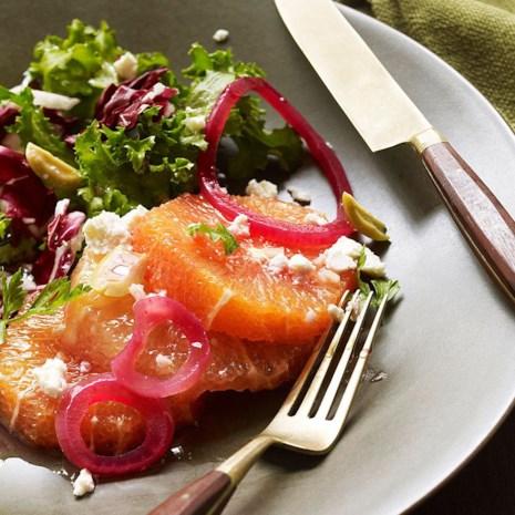 Citrus Salad with Olives & Radicchio