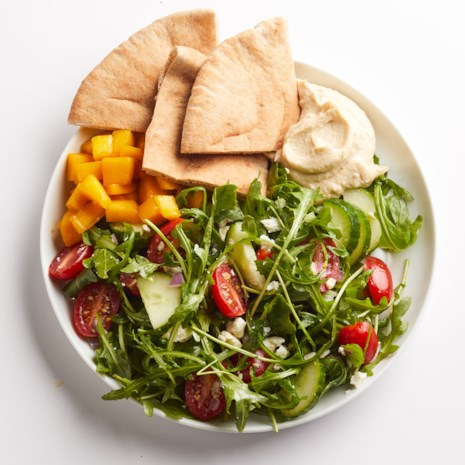 Hummus & Greek Salad