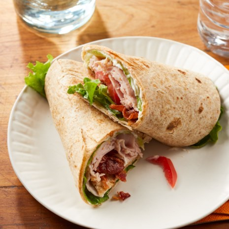 Turkey BLT Wraps