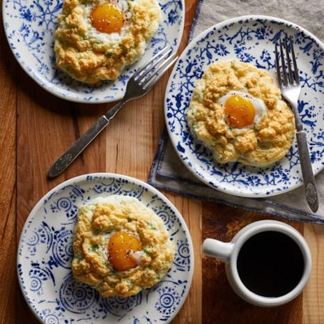 Parmesan Cloud Eggs