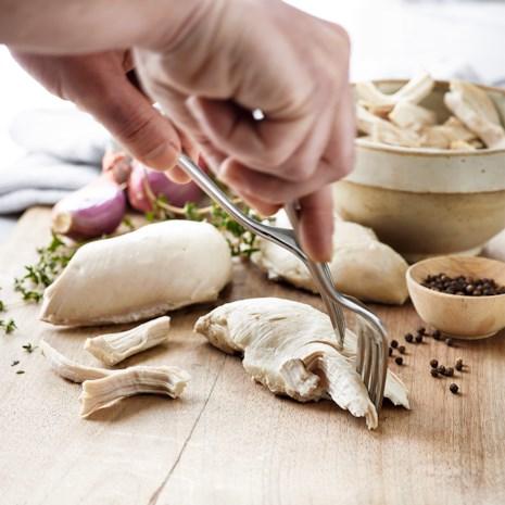 Shredded Chicken Master Recipe