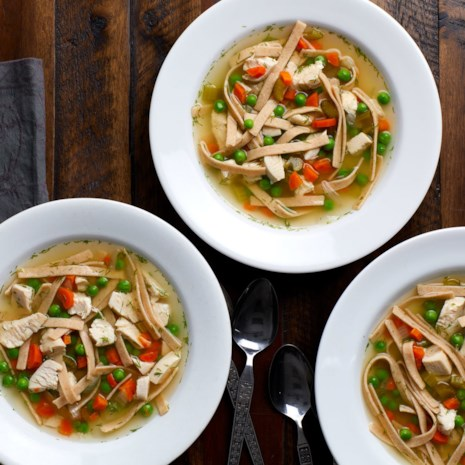Slow-Cooker Chicken Noodle Soup Meal-Prep Freezer Pack