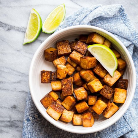 Soy-Lime Roasted Tofu