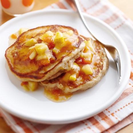 Pear-Ginger Pancakes