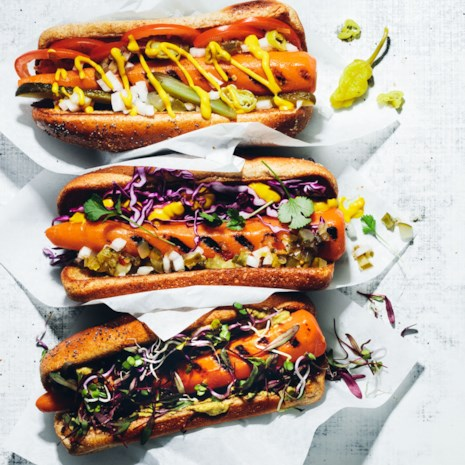 Chicago-Style Carrot Dogs