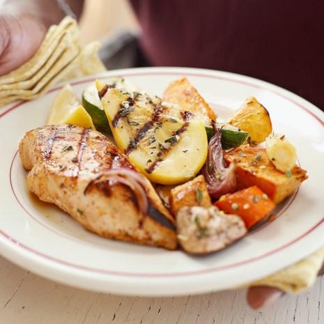 Three-Way Marinated Chicken