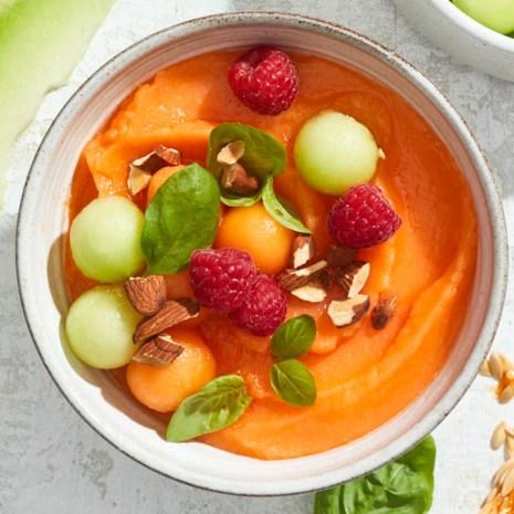Cantaloupe Smoothie Bowl