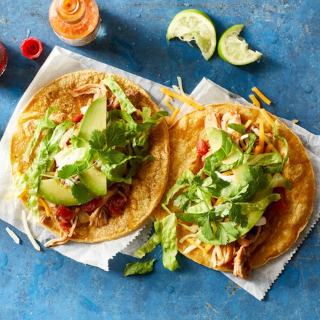 Pressure-Cooker Chicken Tacos