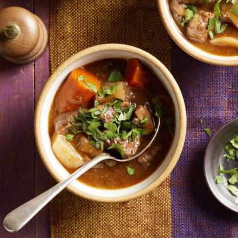 Pressure-Cooker Beef Stew