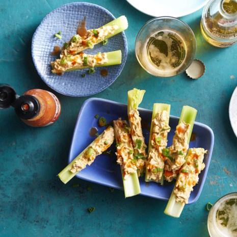 Buffalo-Chicken Celery Sticks