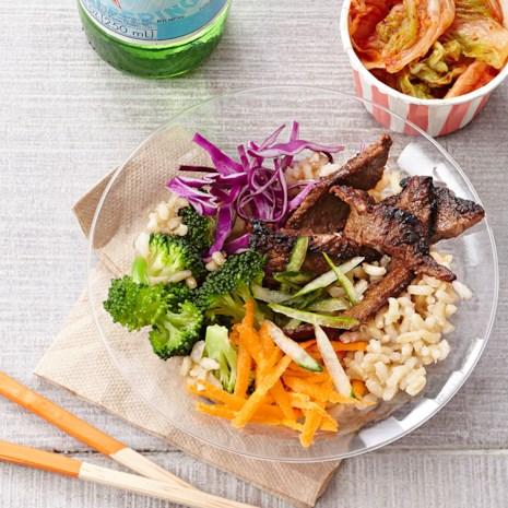 Bulgogi Beef and Vegetable Bowls