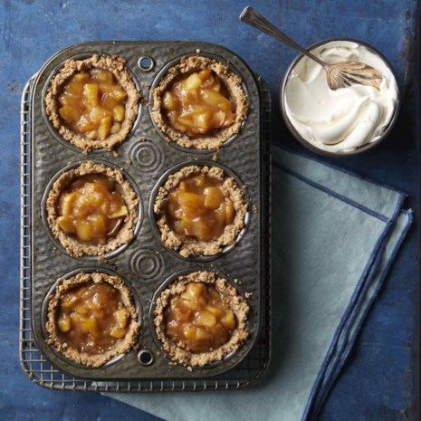 No-Sugar-Added Mini Apple Pies