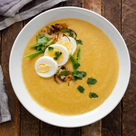 Red Lentil & Caramelized Onion Soup