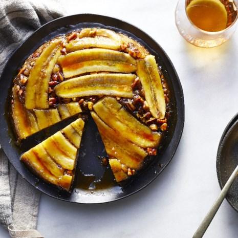 Bananas Foster Upside-Down Cake
