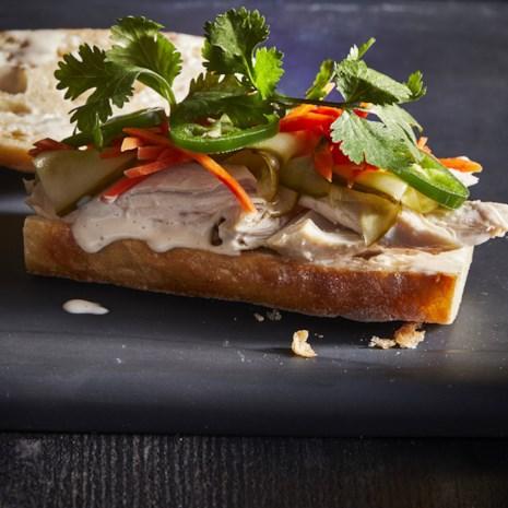 Roasted Chicken Banh Mi