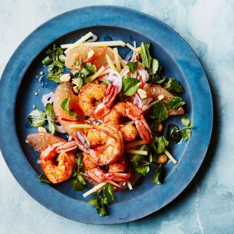 Shrimp, Pomelo & Green Mango Salad