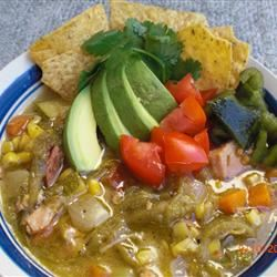 Mexican Corn Chowder BUSHY