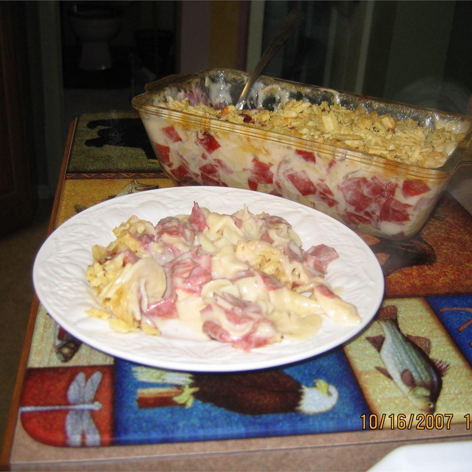Grandma's Dried Beef Casserole image