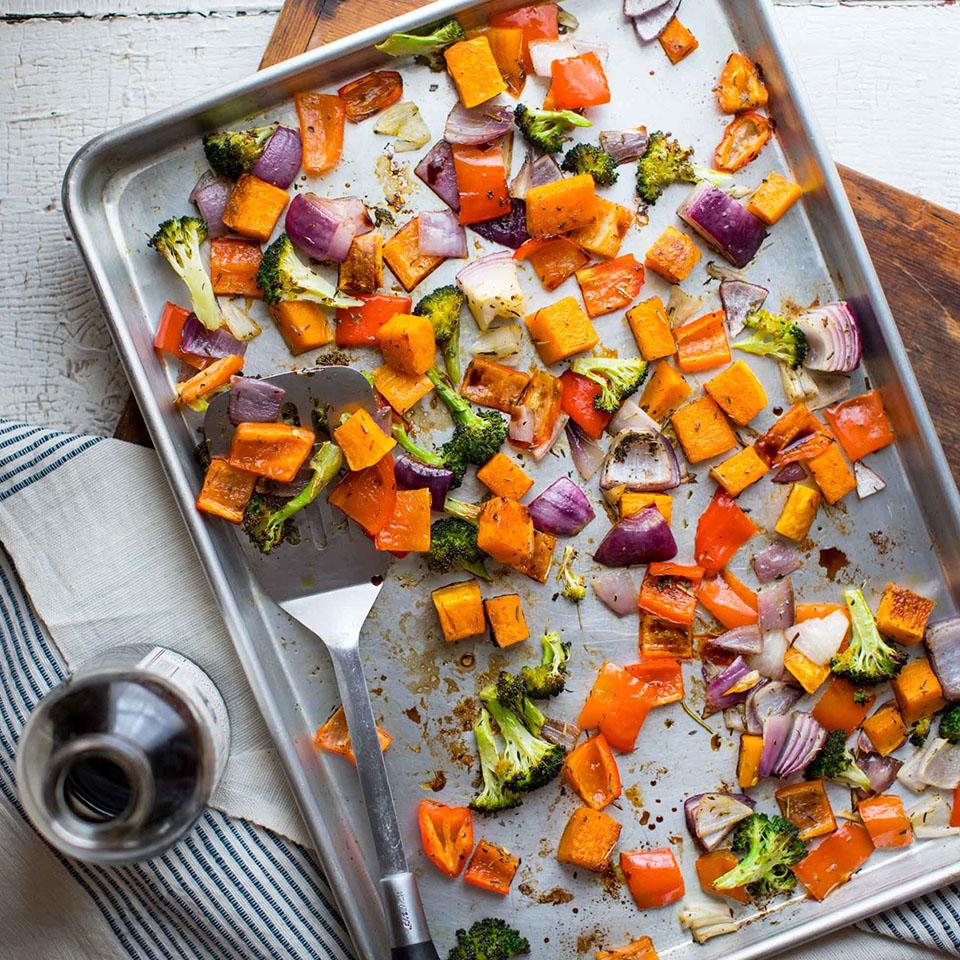Colorful Roasted Sheet-Pan Veggies Katie Webster