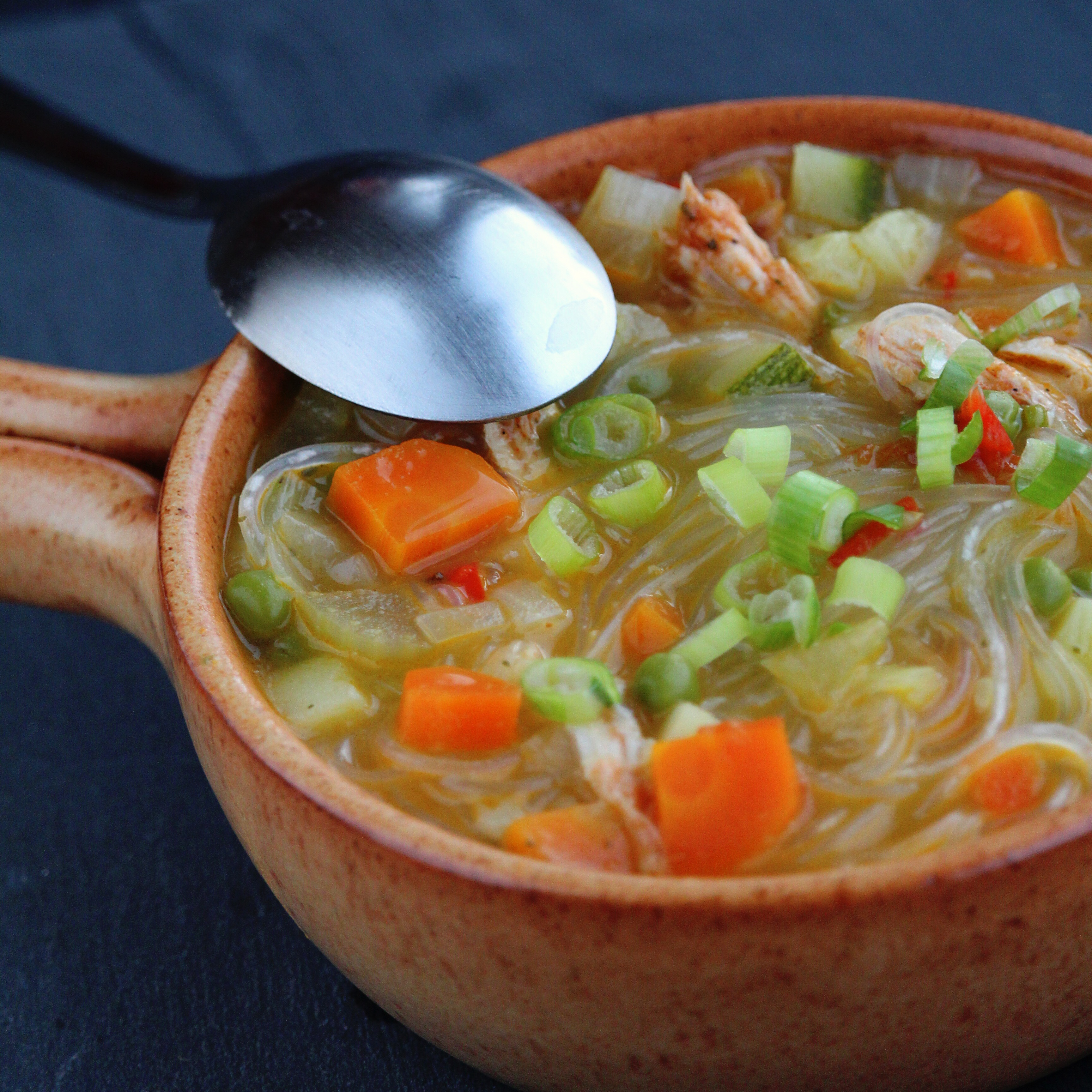 Spicy Chicken Noodle Soup Buckwheat Queen
