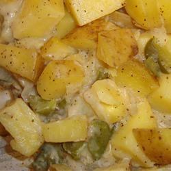 Grilled Potato Casserole Paula