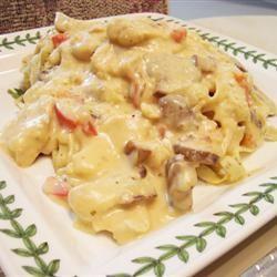 Chicken Fettuccini Alfredo ersuka