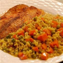 Indian Curried Barley Pilaf squarepear