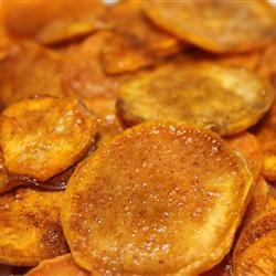 Cinnamon Sweet Potato Chips Wendy Sellers