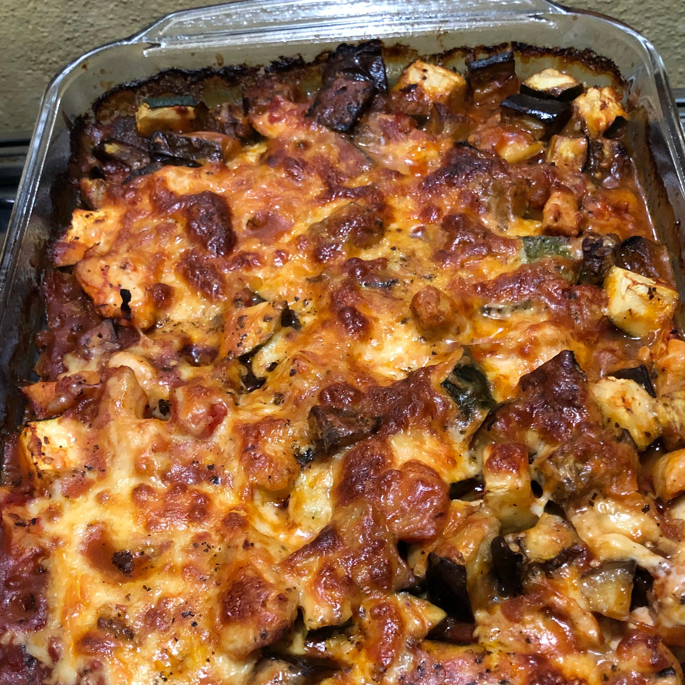 Mediterranean Chicken with Eggplant