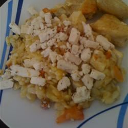 Orzo with Tomato and Fried Tofu Irene Padilla Lopez