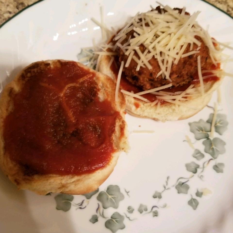 Chicken Parmesan Meatball Sliders Nikisheth
