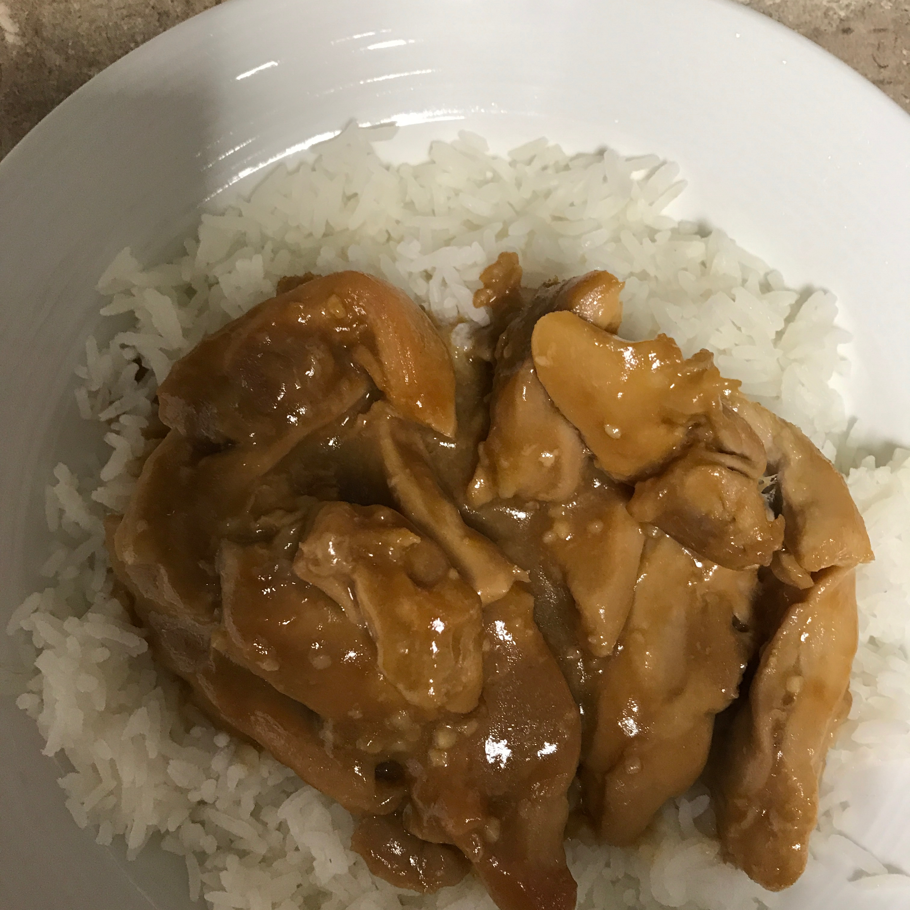 Orange, Honey and Soy Chicken Marjory