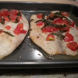 Italian Style Flounder ilovecookingsomuch