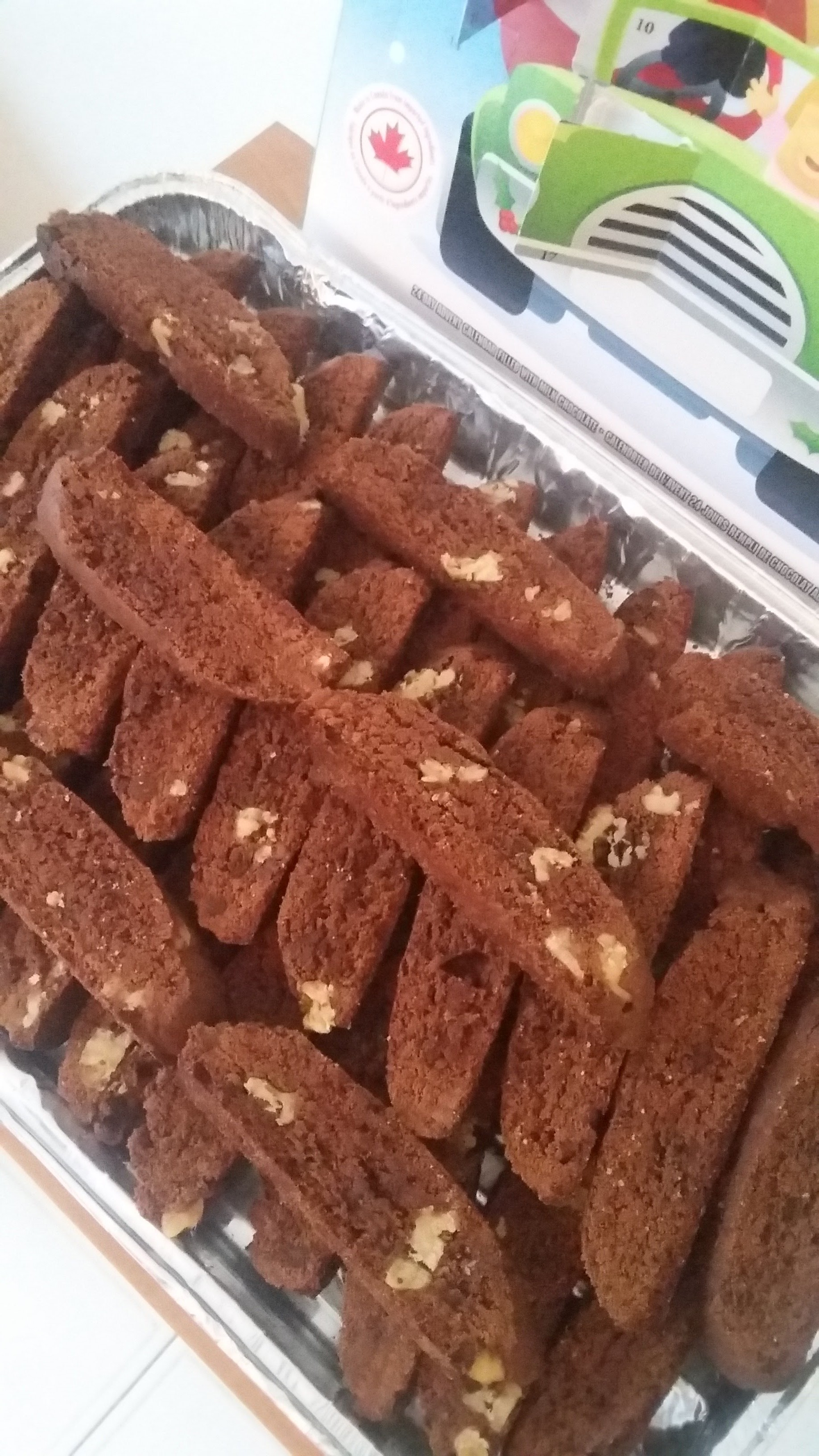 Simple Double Chocolate Biscotti image