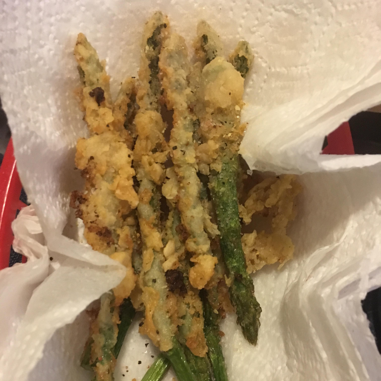 Fried Asparagus Sticks