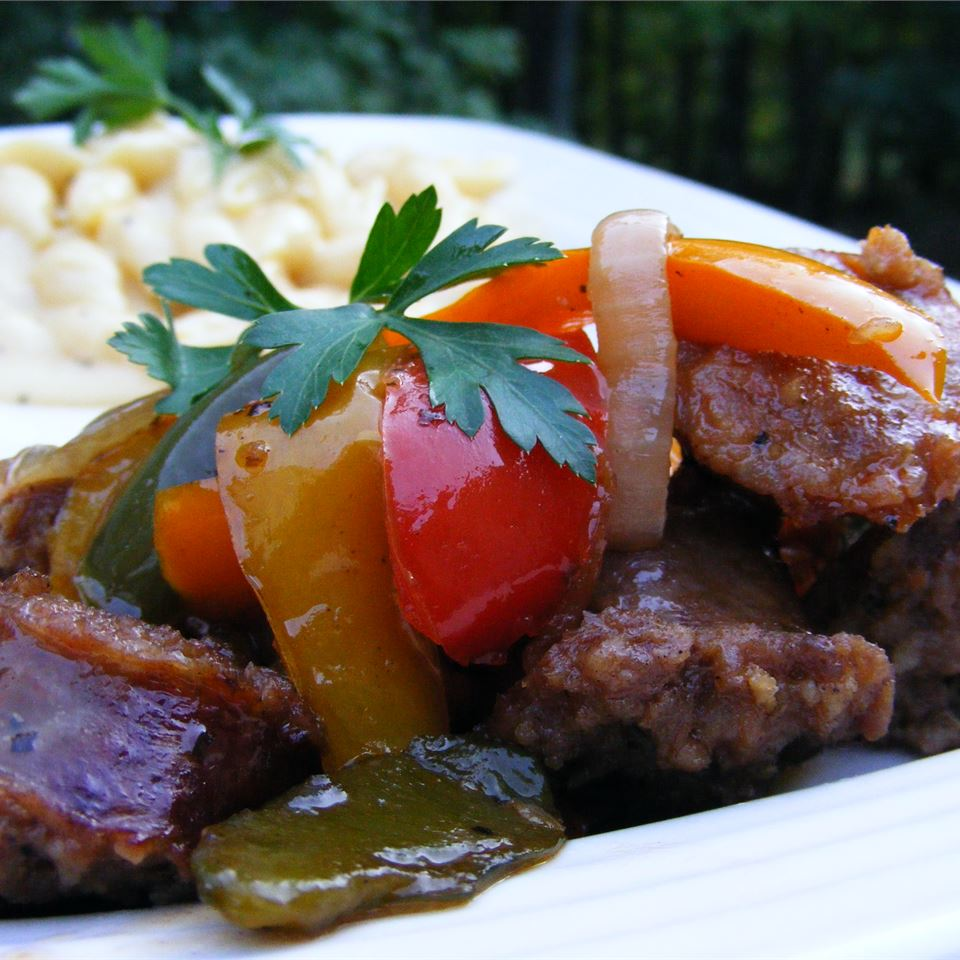 Italian Sausage, Peppers, and Onions_image