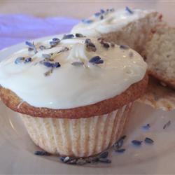 Lemon-Lavender Cupcakes