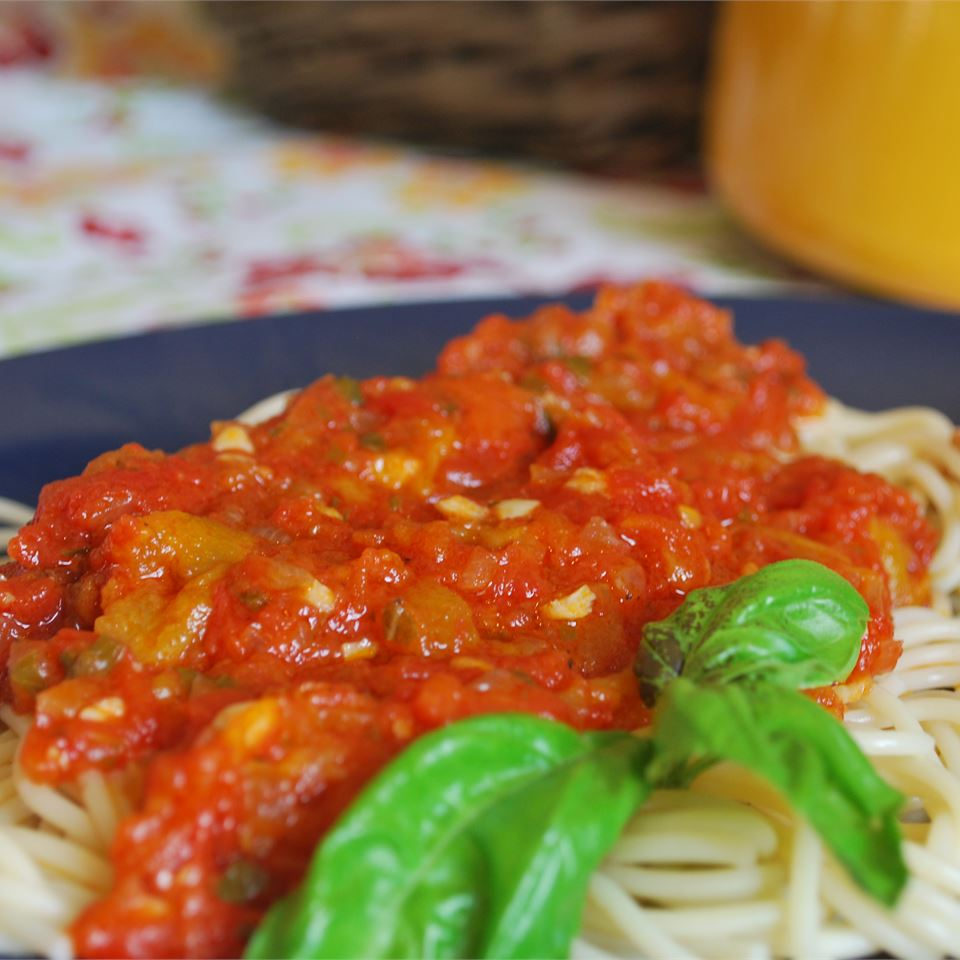 Fresh Tomato Basil Sauce_image