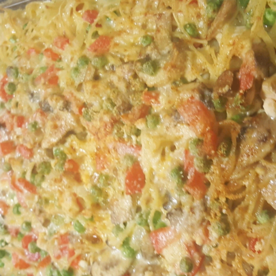 Chicken or Turkey Tetrazzini Deluxe