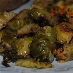 Cream-Braised Brussels Sprouts Pugged