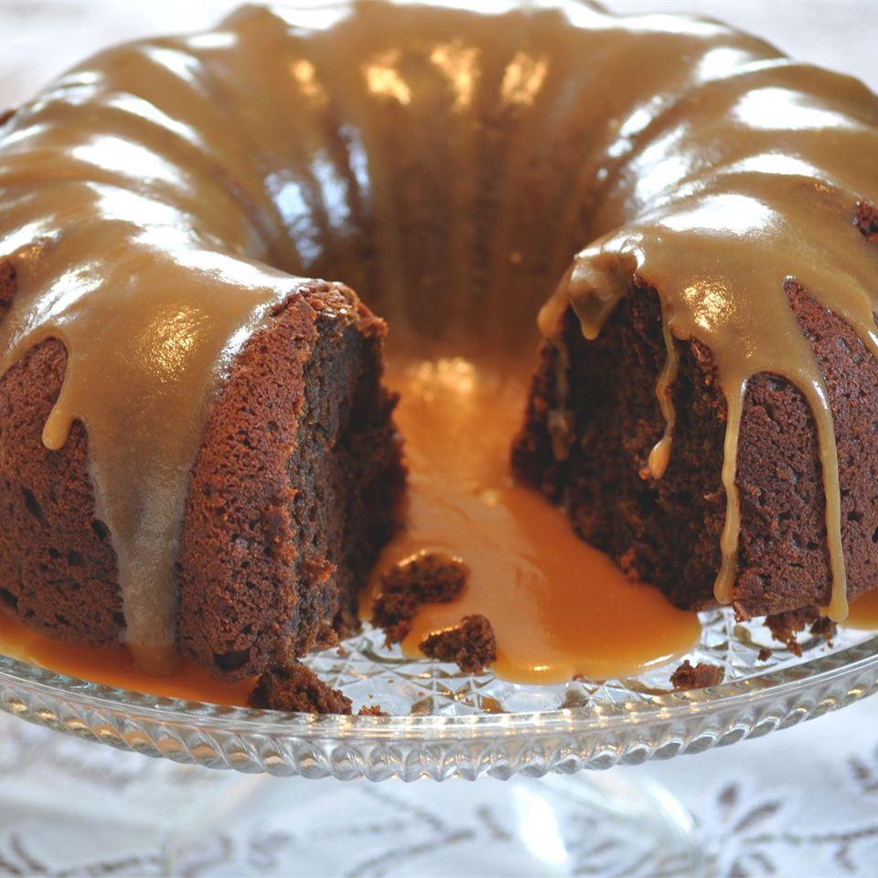 Pumpkin Chocolate Dessert Cake